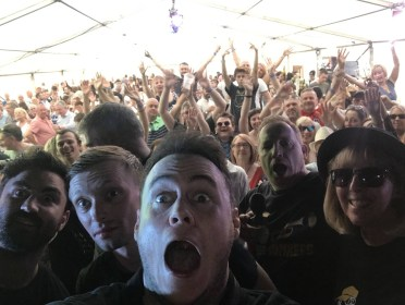 Nantwich Jazz and Blues Festival 2019 Crowd Selfie