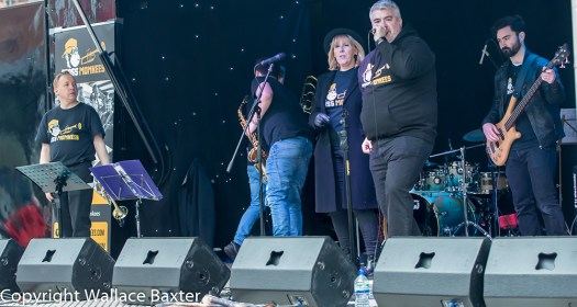 Brasss Monkees Nantwich Jazz Festival 2018 13