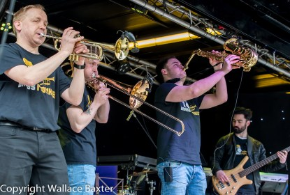 Brasss Monkees Nantwich Jazz Festival 2018 16