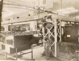 Chicago post office belt conveyor