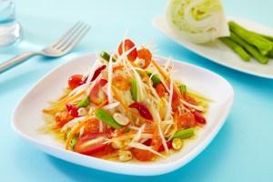 papaya Salad Somtam Thai Food Recipe