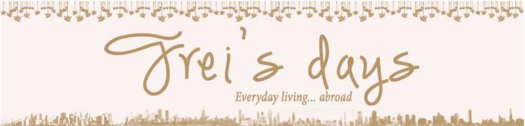 http://freisdays.com/ Everyday living... abroad