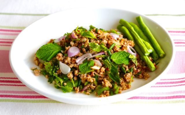 Minced Pork Salad – Laab Moo