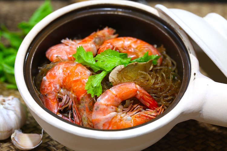 Prawn & Glass Noodle Hot Pot