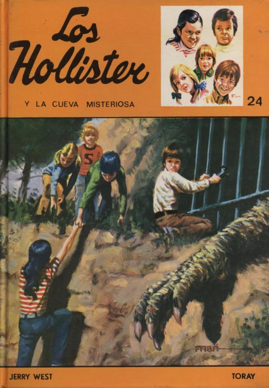 Los Hollister y la cueva misteriosa - Jerry West