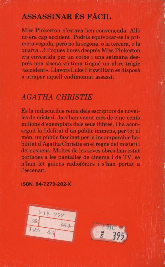 Assassinar és fàcil - Agatha Christie