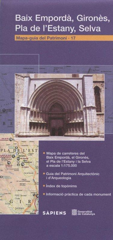 Venda online de Mapa-Guia del patrimoni: Baix Empordà, Gironès, Pla de l'Estany, Selva a bratac.cat