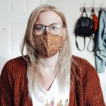 Brittany in a Mask During 2020 Quarantine