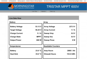 ANTARIS with Monrningstar Inverter