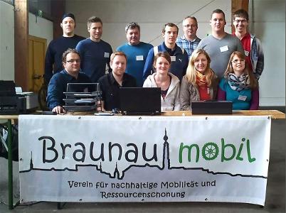 Team Fahrradbasar 2014 (Braunau mobil und Helfer)