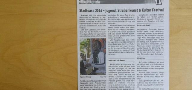 Grenzland Anzeiger, Nr. 18/2014, 15. September 2014