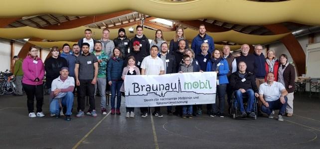"""Team Fahrradbasar 2019 (Braunau mobil mit Helfern und dem Team von """"Wir Gemeinsam"""")"""