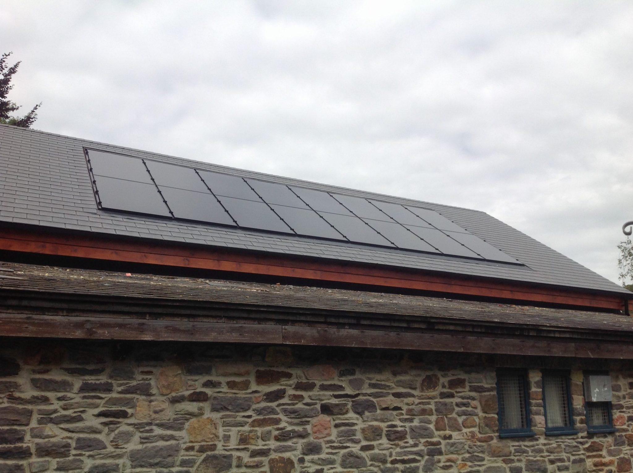 The Inbuilt PV Roof System Was Fitted By Local Firm RES Devon, Local Roofing  Firm Nathan Spice Undertook The Roofing Work And The LED Lighting Was  Provided ...
