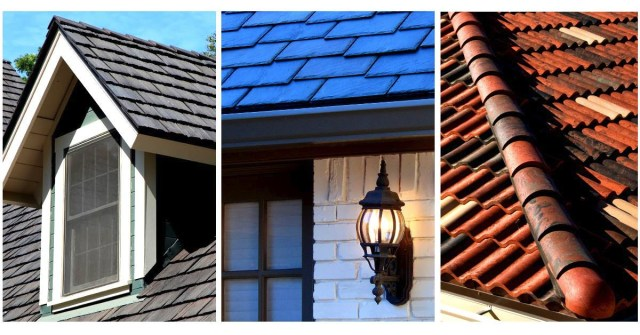 what is composite roof tile