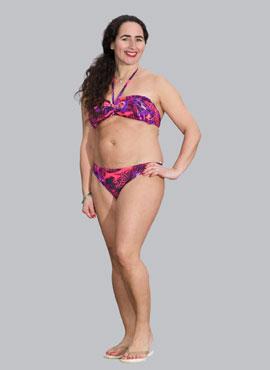 Pink Lipstick Bikini Briefs