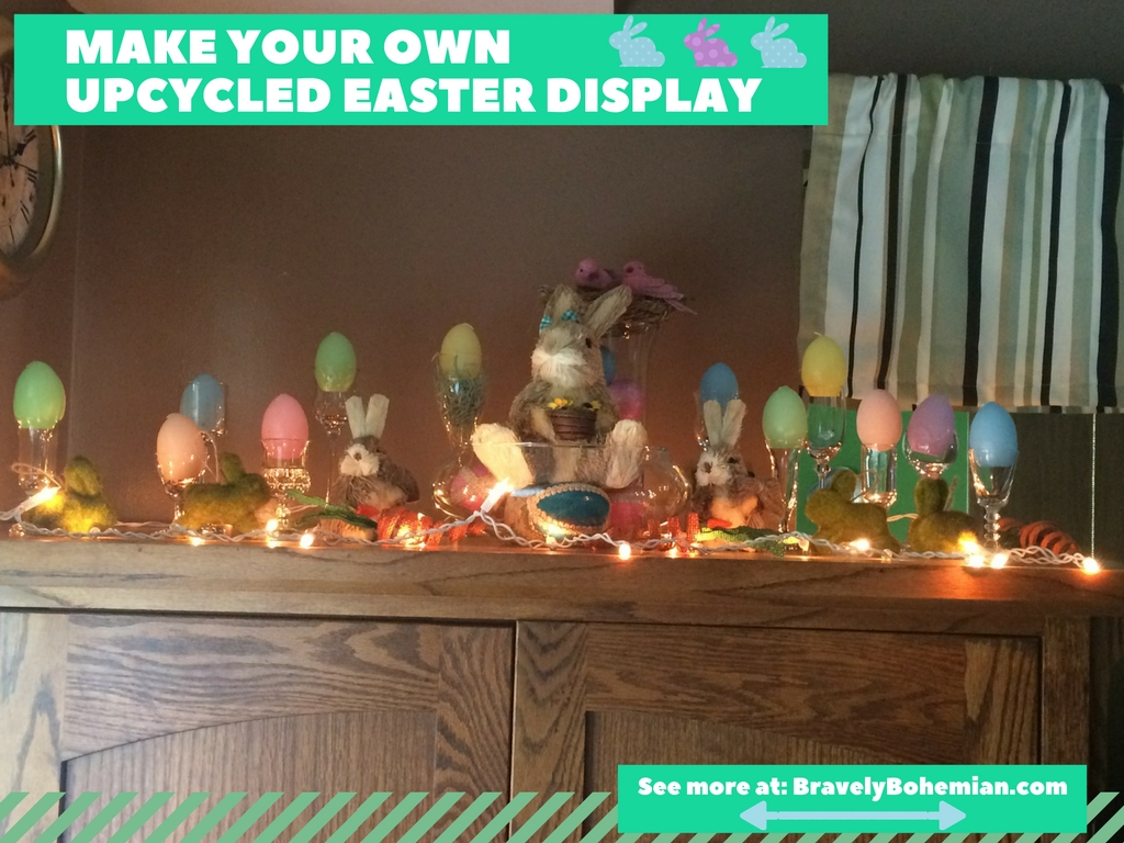 Make Your Own Upcycled Easter Display