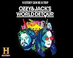 Ozzy and Jack's World Detour banner