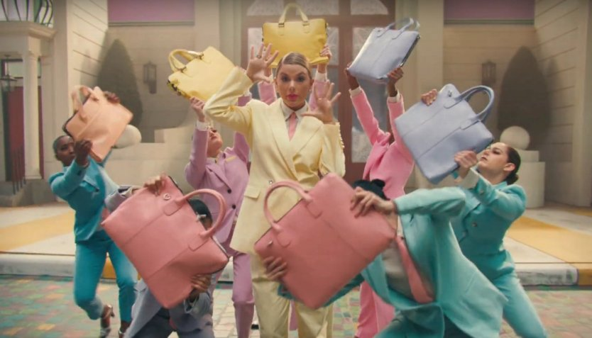 "Taylor Swift Gets Colorful in New Music Video for ""Me"""