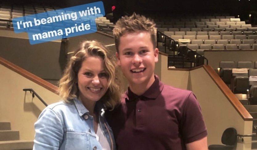 "Lev Bure, 19, Preaches at Church, and Candace Cameron has ""Mama Pride"" (Video)"