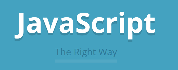 JavaScript the right way site header
