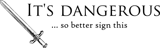It's Dangerous logo