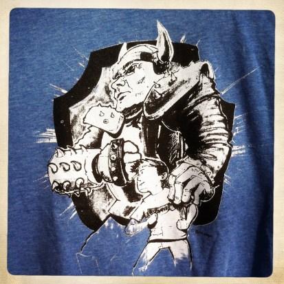 Super sidekick t-shirt - lichtblauw