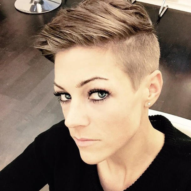 Saskia Beecks Mit Undercut Hot Or Not Neue Frisuren Der
