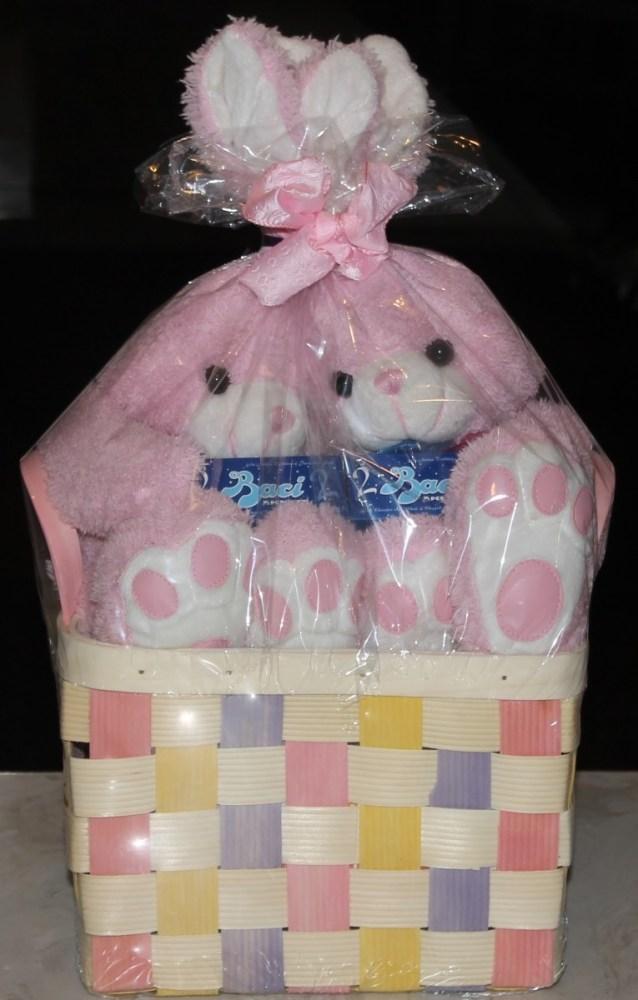 easter themed gift basket
