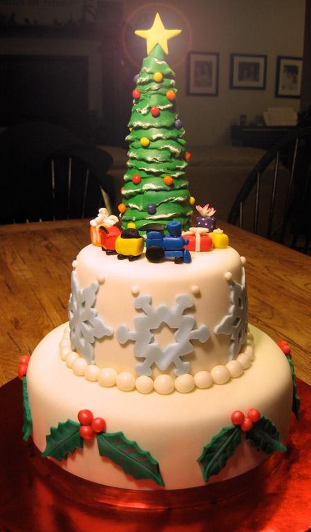 Christmas Wedding Cakes BravoBride