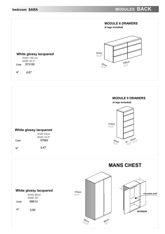 Bed Dresser