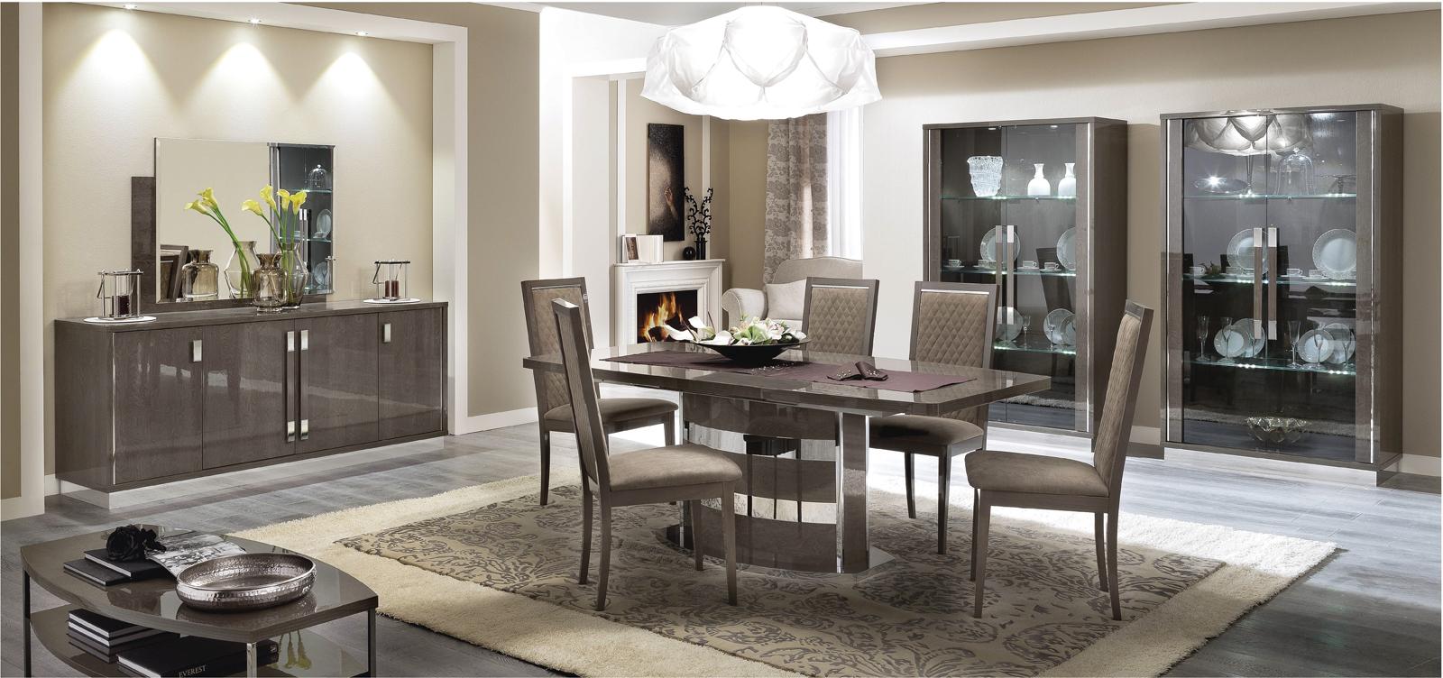 Platinum Slim Dining Modern Formal Dining Sets Dining