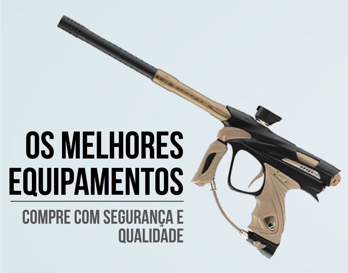 Bravo Paintball, Paintball, Equipamentos de Paintball, Paintball Blumenau