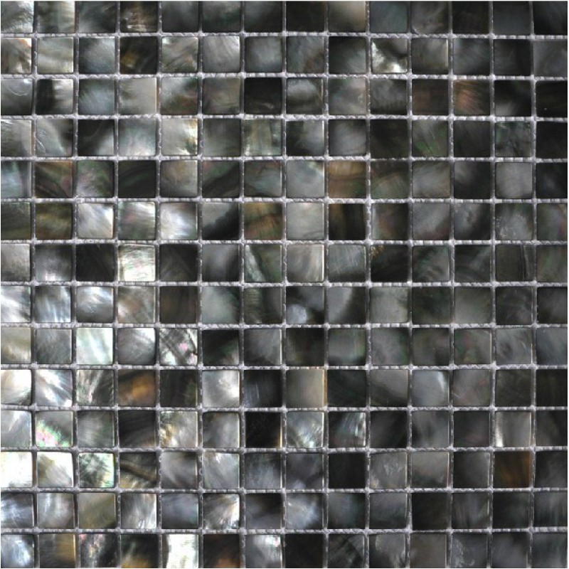 seashell tile backsplashes kitchen black lip shell deepwater mother of pearl tiles square mosaic bathroom wall and floor tiles dws002