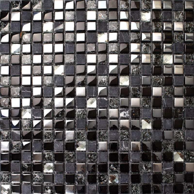 crackle crystal mosaic diamond silver plating glass tile backsplash natural marble tile bathroom mirror backsplashes wall tiles sgt66b