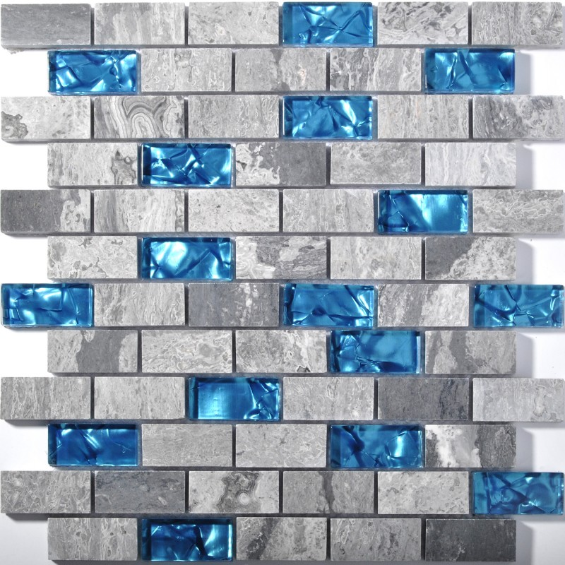 blue glass tile kitchen backsplash subway marble bathroom wall shower bathtub fireplace new design mosaic tiles sgc008 bravotti com