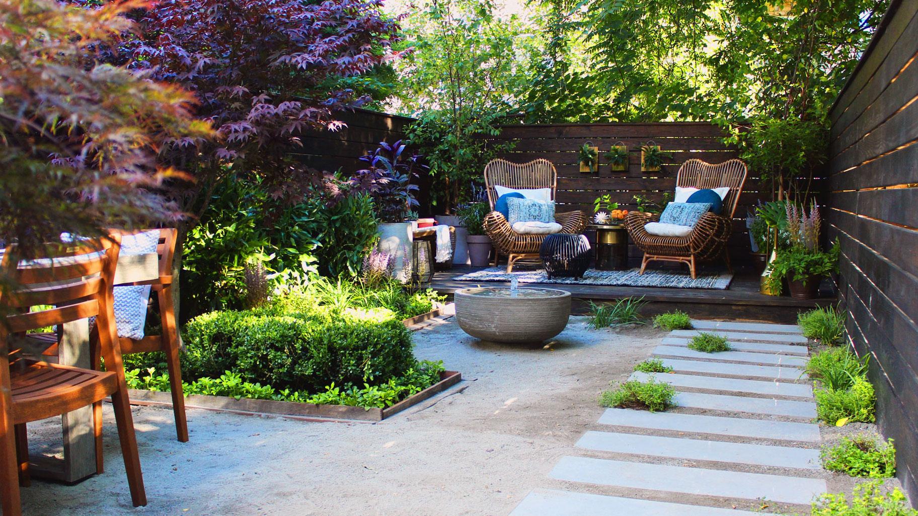 Before and After: A Zen Garden and a Seasonal Restaurant ... on Zen Garden Backyard Ideas id=30526