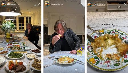 Mohamed Hadid Bella Hadid Feast 1