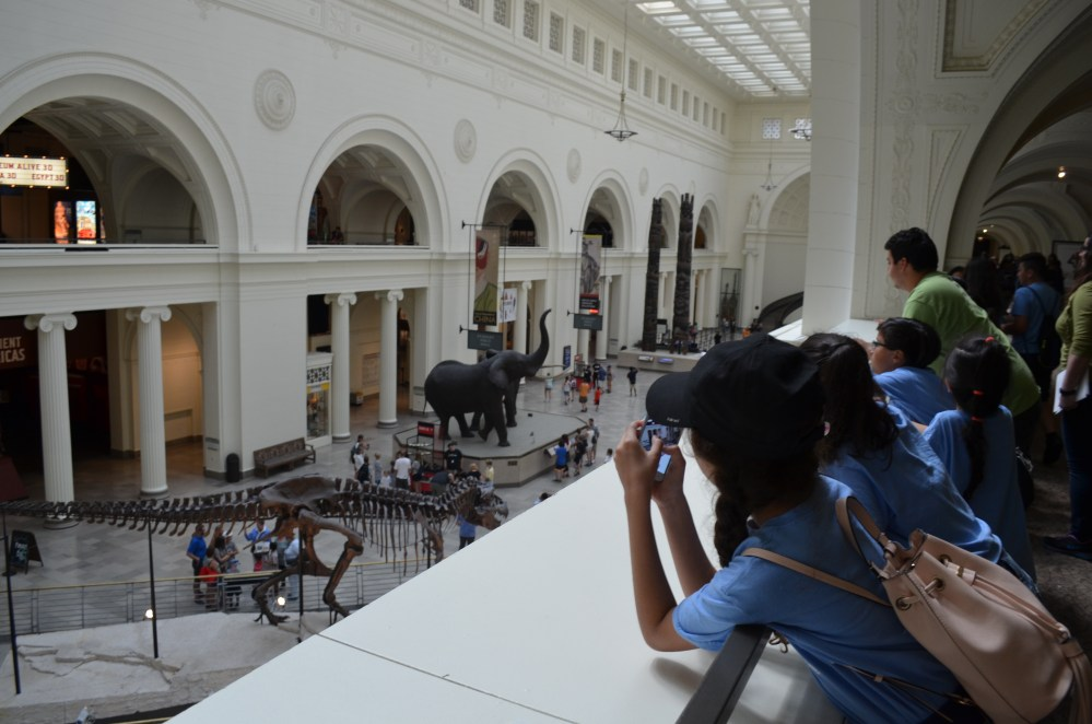 Bravo Students in Access program at museum
