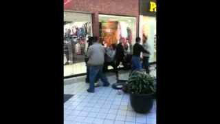 crazy mall fights