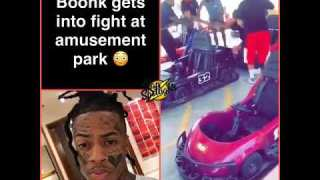 Boonk gang gets into a fight at he amusement park