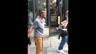 Homeless Fight…14th Street and 6th Ave, NYC