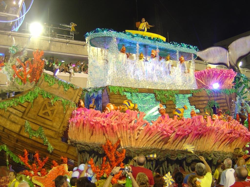 Carnival at Sambodromo Rio Brazil www.brazilfilms.com a film production service