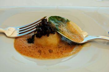 Essen in der Vila Joya