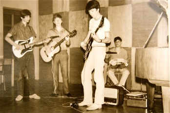 Erste Band 1970