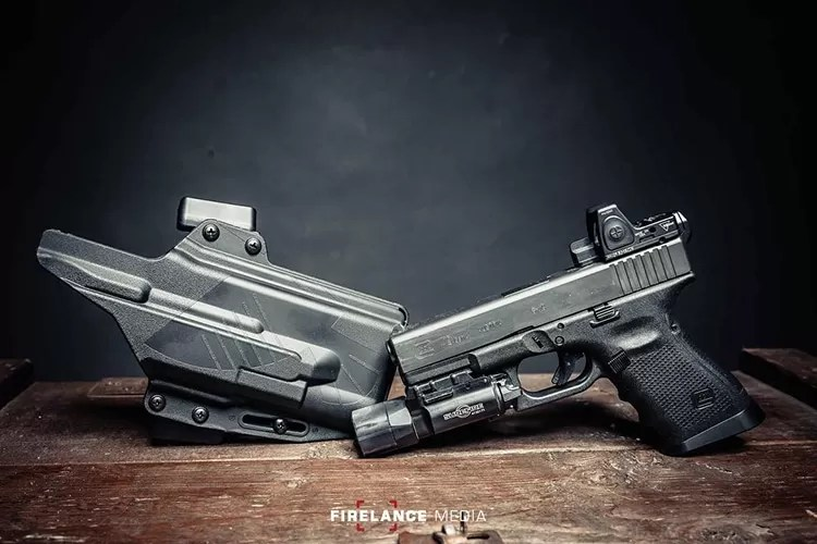 Firelance Media | Perun LC Light Compatible Holsters for WMLs by Raven Concealment Systems