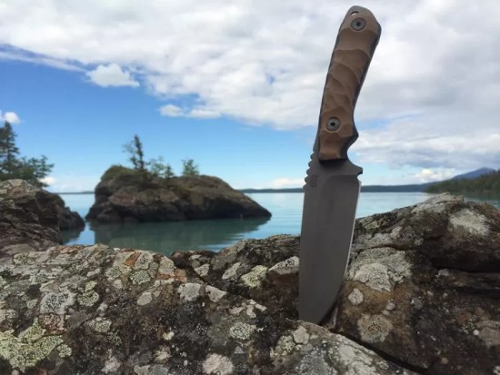 Coye Knife in Alaska