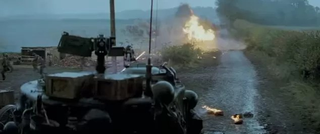 Fury movie Tanks in WWII Tanker Movie Bradd Pitt Breach Bang Clear 2