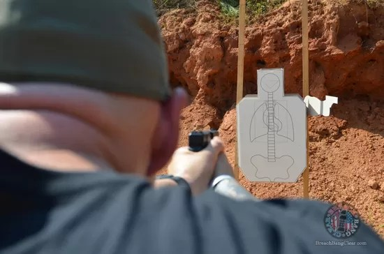 Ammo stopping power vs anatomy Cowan Breach Bang Clear anatomy target