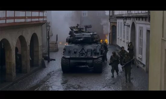 Fury - Recreating Hell tanks on the battlefield