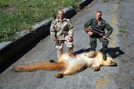 OPFOR secret squirrel operator taken down with extreme prejudice.